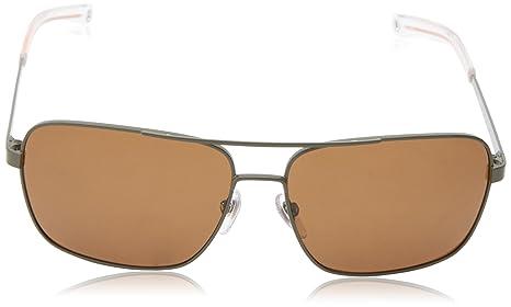 Jack Spade Gafas de sol rectangulares polarizadas para hombre Verde Tanque 59 mm: Amazon.es: Ropa y accesorios