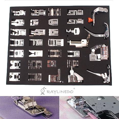 Janome Feiyue Pfaff Juki Singer Various Types Presser Foot Kit Universal Feet Set For For Brother