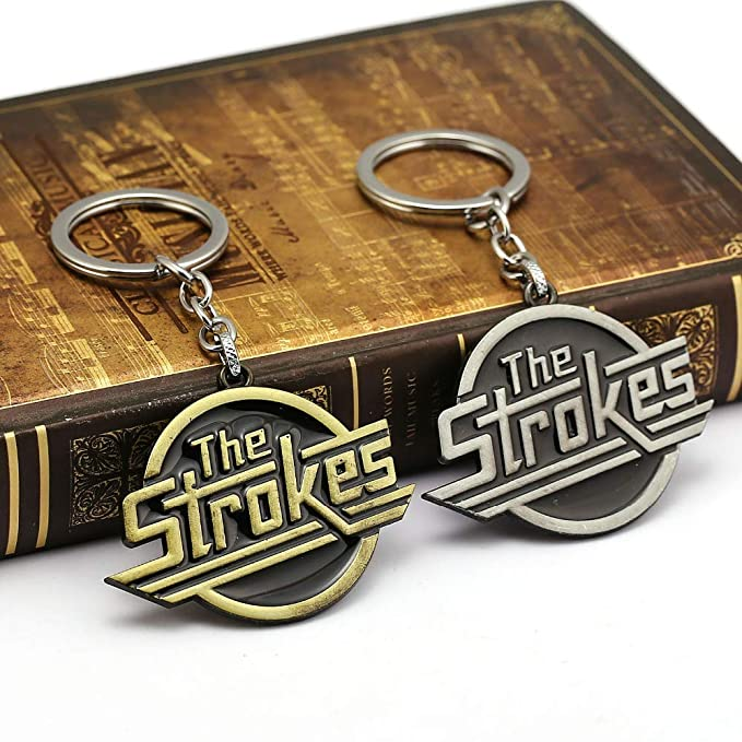 Mct12 - The Strokes Keychain Drum Band Music Key Letter Logo ...
