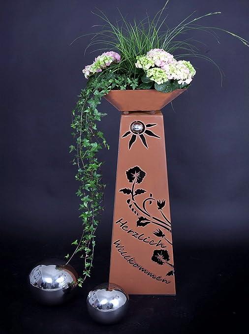 Jabo Design Rost Saule Schale Rs102 S11 Saulen Konisch Herzlich