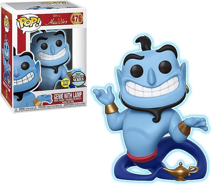Disney/'s Aladdin Genie With Lamp GITD #476 Specialty Series NEW Funko Pop