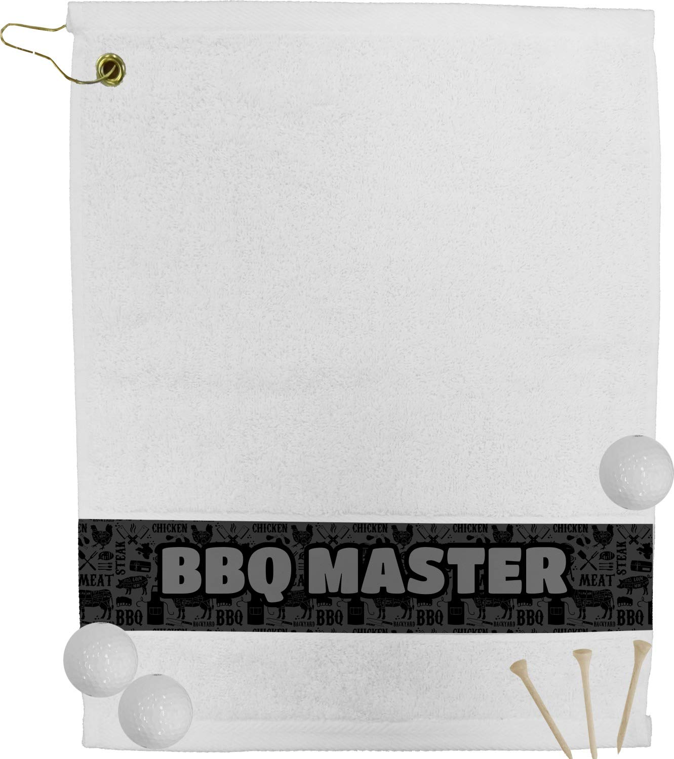 Barbequeゴルフタオル( Personalized Personalized ) B0764PKBYX B0764PKBYX, バッハマン:43d403fc --- lindauprogress.se