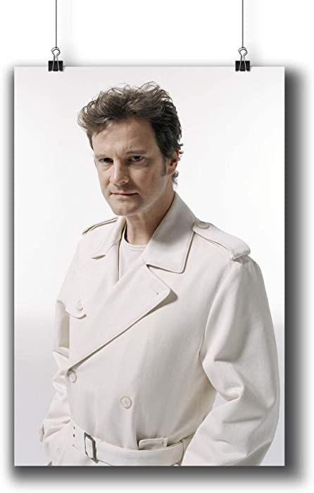 Colin Firth Actor Movie Photo Poster Prints 006-007,Wall Art Decor for Dorm Bedroom Living Room (A4|8x12inch|21x29cm)