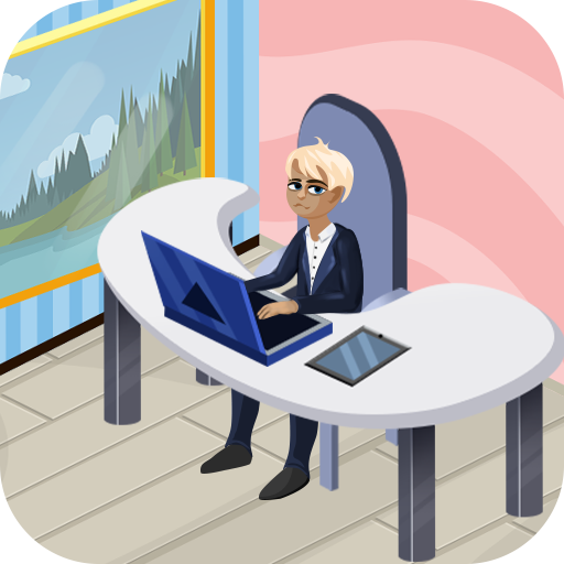 Office Employee Tycoon Quest: Real Business Game (Hub Executive)