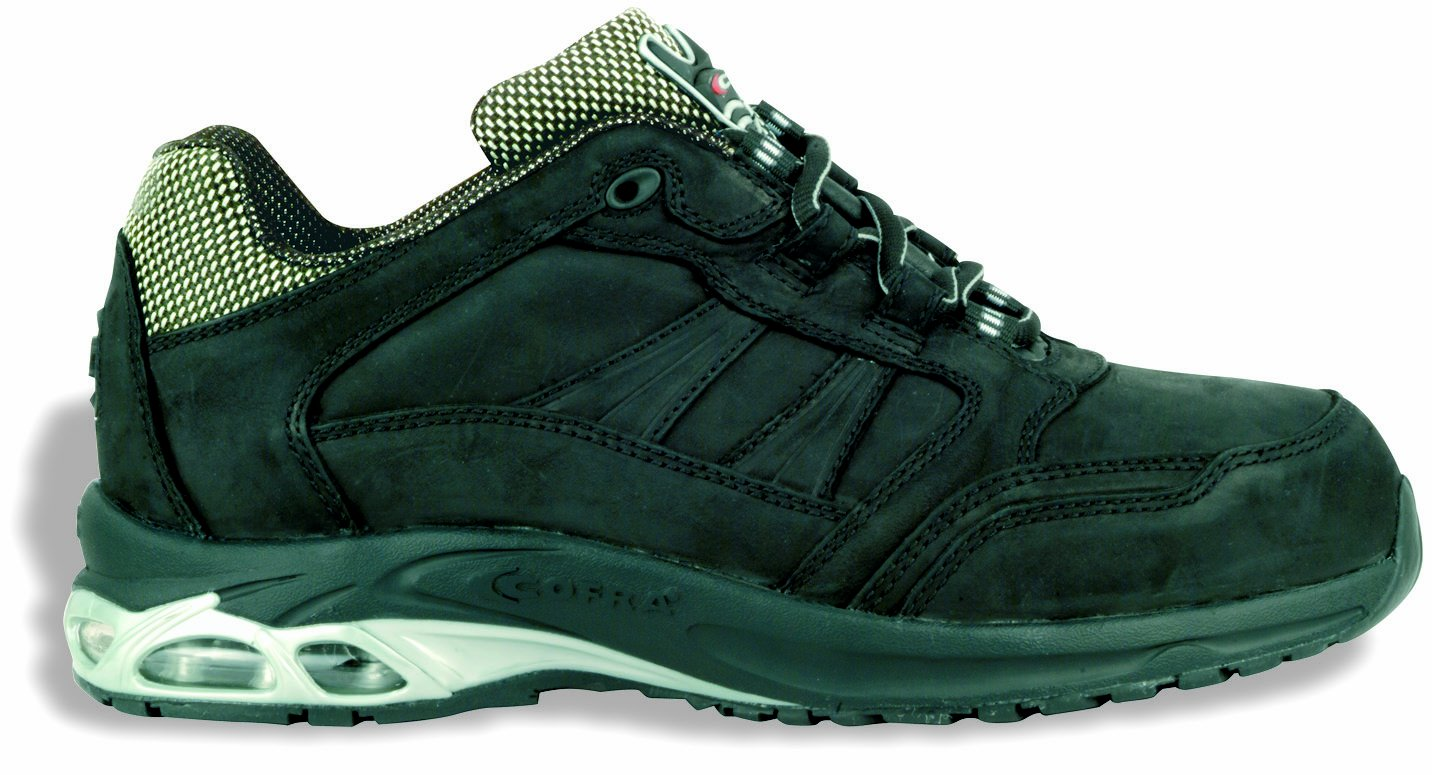 Cofra GHOST BLACK S3 Sicherheitsschuh, Arbeitsschuh im Sneaker-Look - 42 PJ018-000.W42