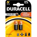 10 x DURACELL LR1 ALKALINE SECURITY BATTERIES CLOCK MN9100 N TYPE 910A E90 1.5v