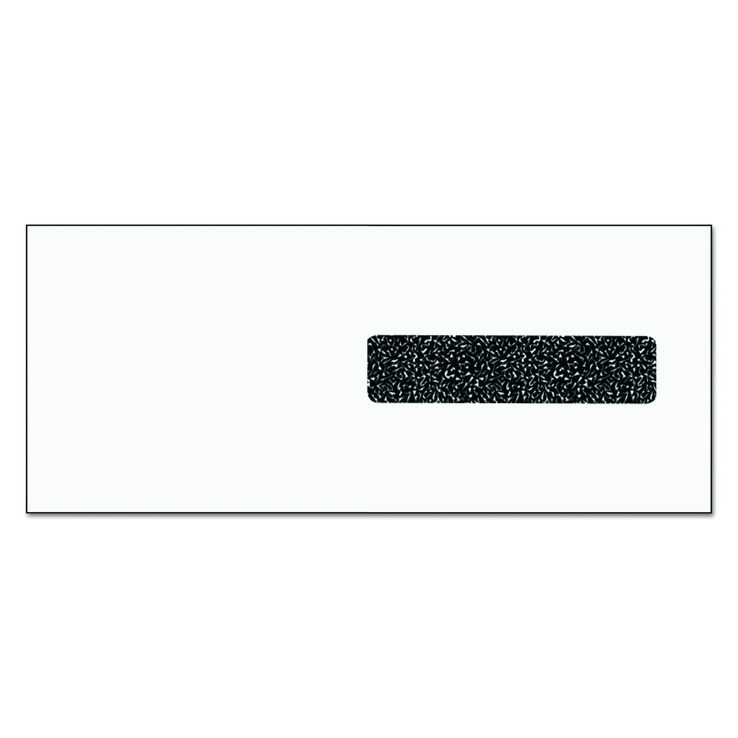 TOPS 50941 CMS 1500 Claim Form Self-Seal Window Envelope, 4 1/8 x 9 1/2, White (Case of 2500)