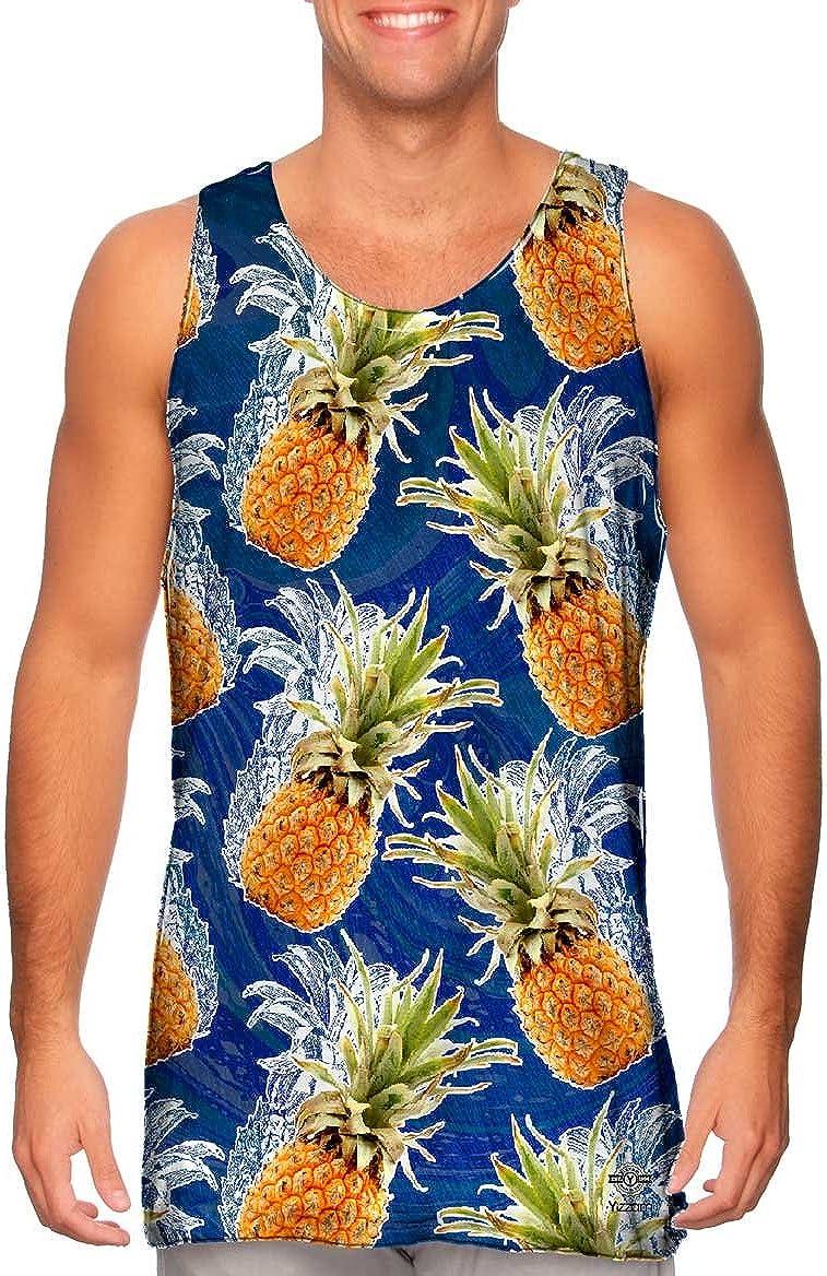 Yizzam-- Summer Pineapple -Tshirt- Mens Tank Top