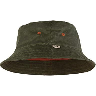 353ffb20aa8c0a Stormy Kromer Men Wax Bucket Hat at Amazon Men's Clothing store: