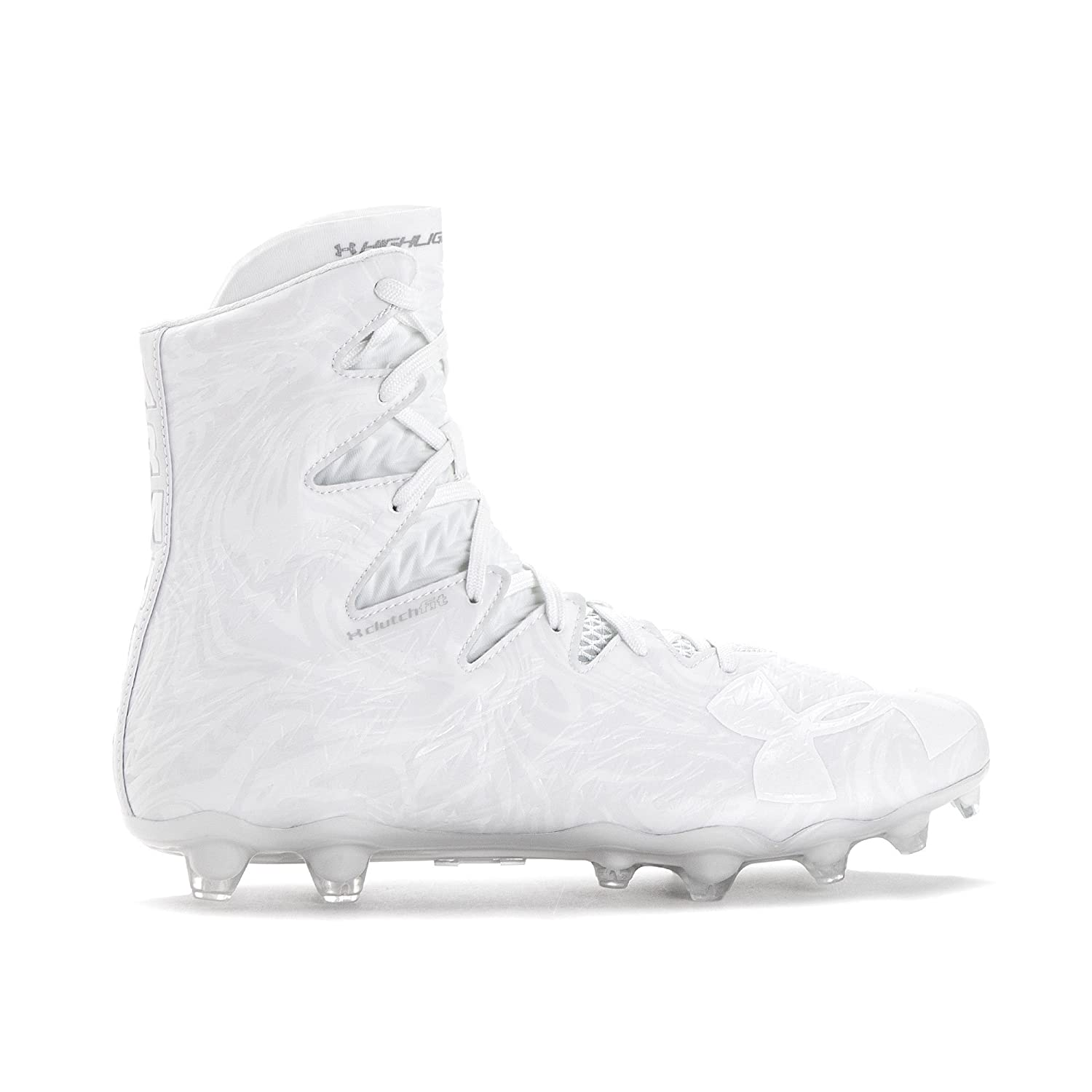 c5bc08b07 Amazon.com | Under Armour Men's Highlight MC Football Cleat, White/White,  10 M US | Football