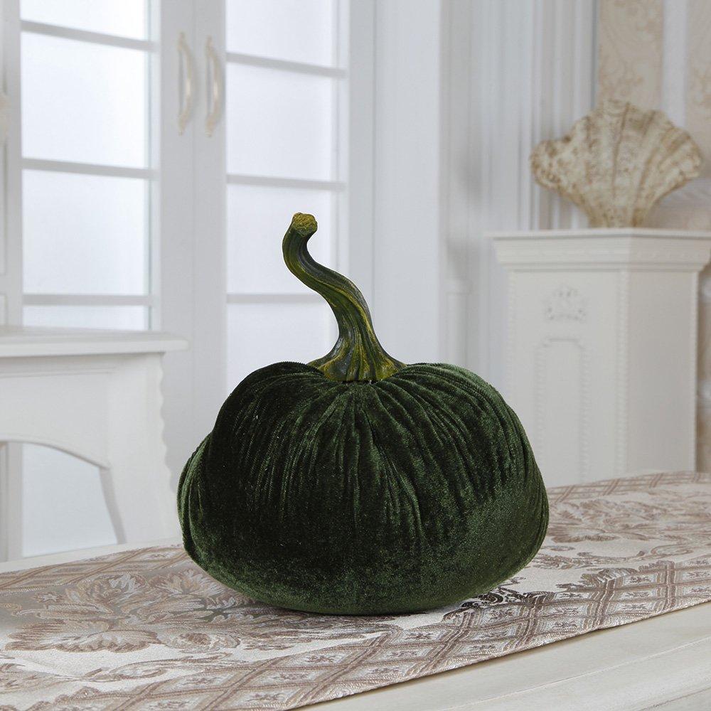 Flora Bunda FT2393 Velvet Pumpkin Sachet Filled with Grain (XL) (TEAL,12pcs) by Flora Bunda