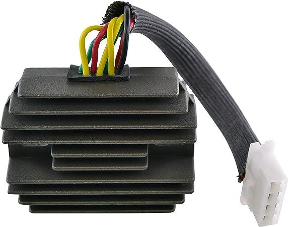 Voltage Regulator Rectifier For Honda Goldwing//Goldwing Aspencade//Goldwing Interstate 1975-1987 OEM Repl.# 31600-463-008 31600-mg9-000 31600-mg9-010 31700-371-000