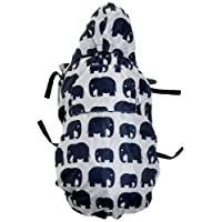 BundleBean babywearing:all-weather waterproof sling and carrier cover (Grey Elephant)