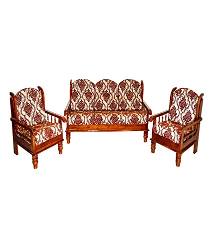 Remarkable Nagin Sofa Set 3 1 1 Seater Wooden Sofa Amazon In Home Gamerscity Chair Design For Home Gamerscityorg