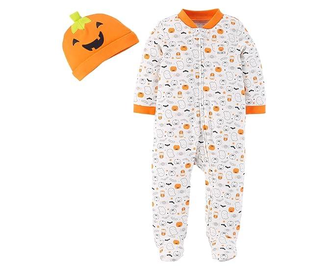 f3ff86e5b72e Amazon.com  Carter s Just One You Neutral Baby Halloween Pumpkin ...