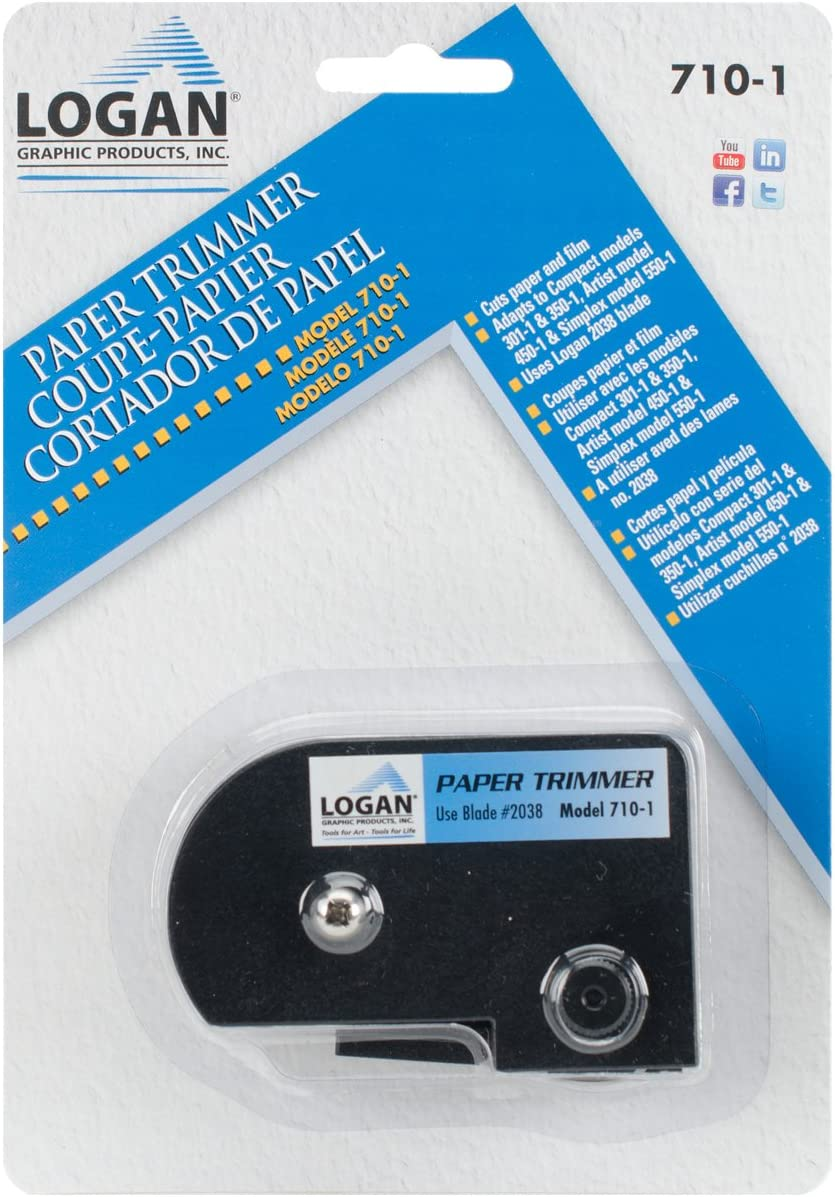 Other LOGAN Paper Trimmer 3.22x12.7x17.78 cm Multicoloured