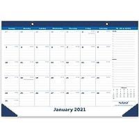 NUOBESTY 2020 Calendrier de Bureau Organisateur de Bureau Maison en Forme de Calendrier Mensuel Stylo Porte-Crayon Bo/îte de Rangement Table Centre de Table D/écor pour Bureau /à Domicile Motif Al/éatoire