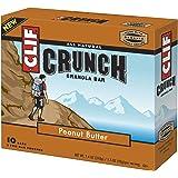 Clif Bar Crunch Bar, Peanut Butter, 10 Count (Pack of 4)
