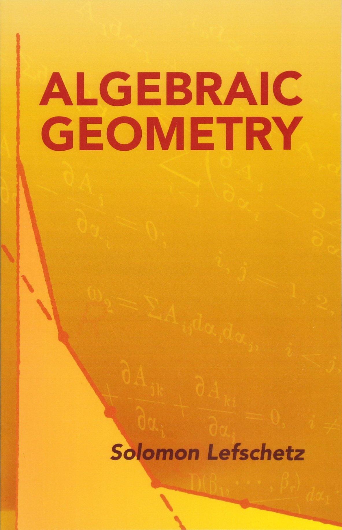 Download Algebraic Geometry (Dover Books on Mathematics) pdf