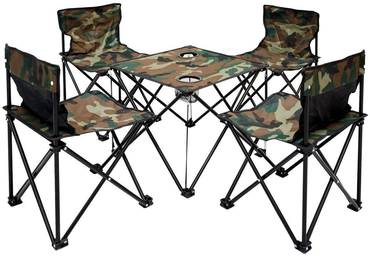 Amanka tavolino da campeggio sedie mini set pieghevole in