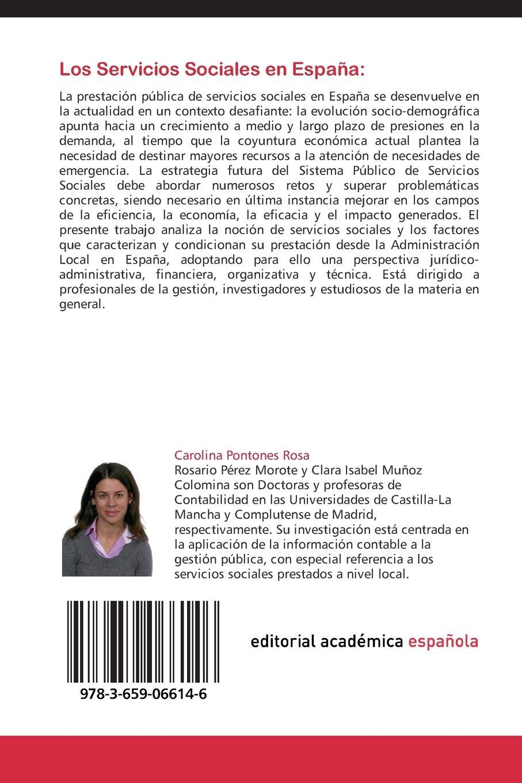 Los Servicios Sociales en España: Regulación, Régimen de Financiación y Modelos de Gestión: Amazon.es: Pontones Rosa, Carolina, Pérez Morote, Rosario, Muñoz Colomina, Clara Isabel: Libros
