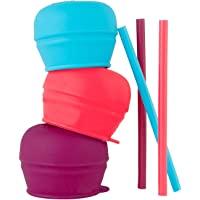 SNUG Straw 3pk lids - Girl