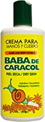Baba de Caracol Regenerative Hands and Body Lotion, 8 ounce