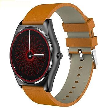 Relojes inteligentes N3 Carga inalámbrica por inducción Relojes inteligentes Pantalla redonda Monitorización del sueño con frecuencia