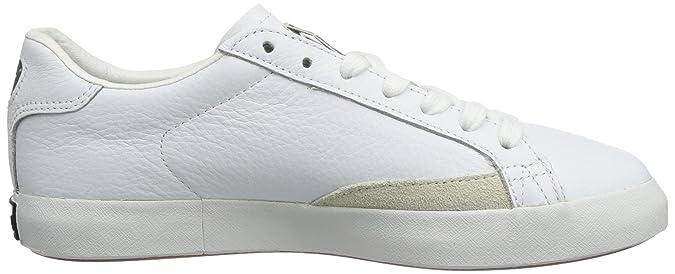 Vulc Match Pumas - Chaussures En Cuir Noir Noir (noir-bleu Monaco 03) 37 1qOizV6ru