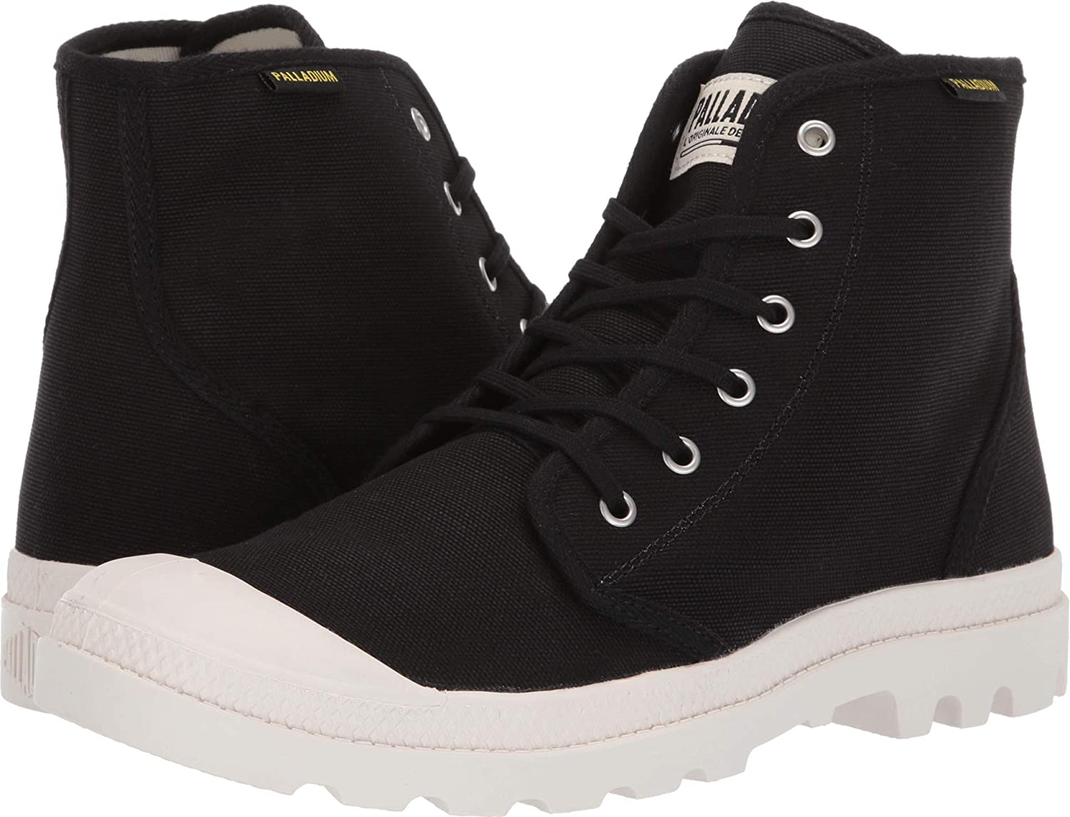 Black Marshmallow Palladium Men's Pampa Hi Originale Chukka