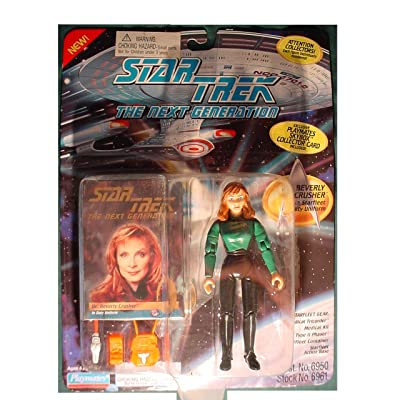 Star Trek the Next Generation Dr. Beverly Crusher In Duty Uniform: Toys & Games