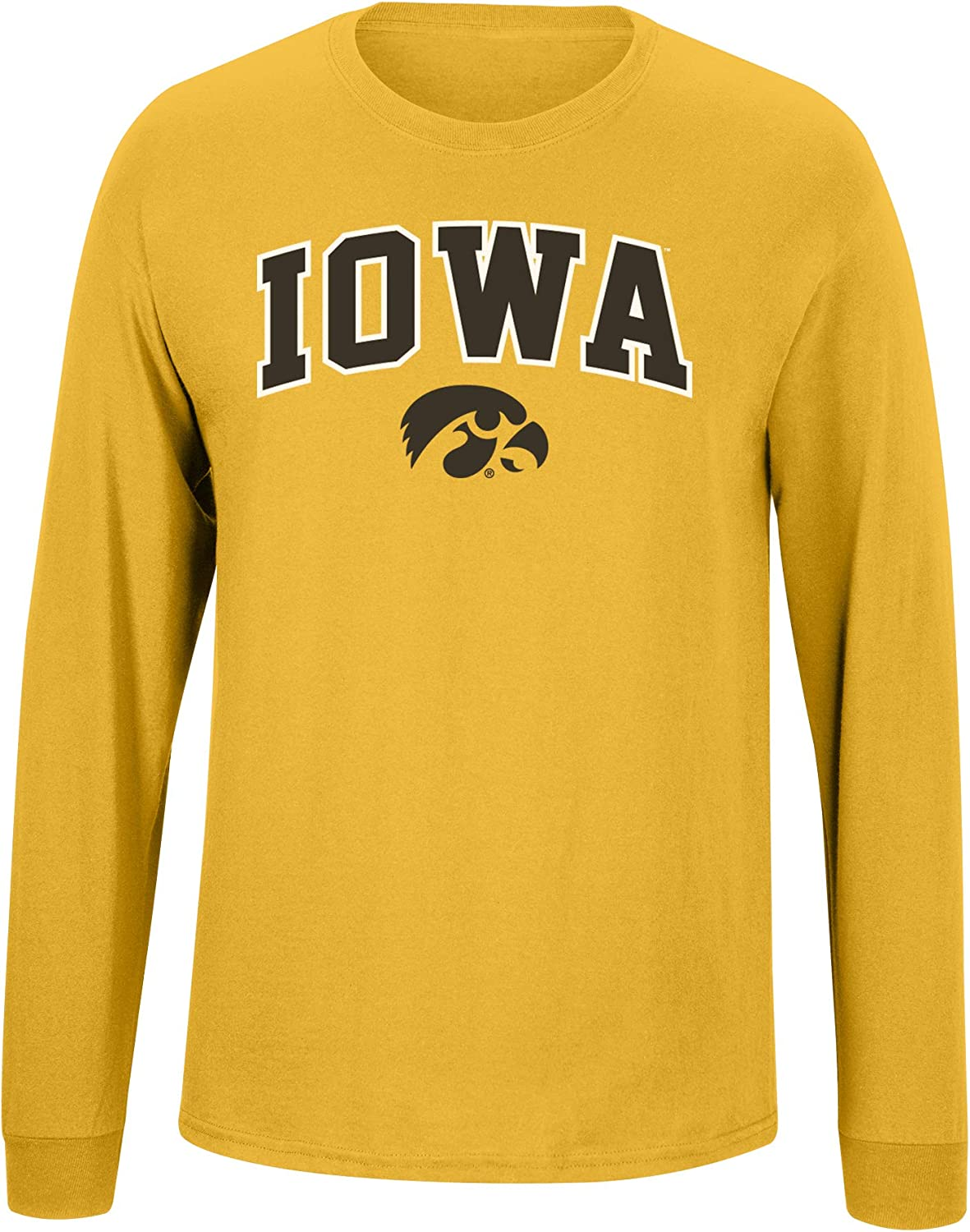 Elite Fan Shop Alternative Team Color Basic Long Sleeve College Arching T-Shirt