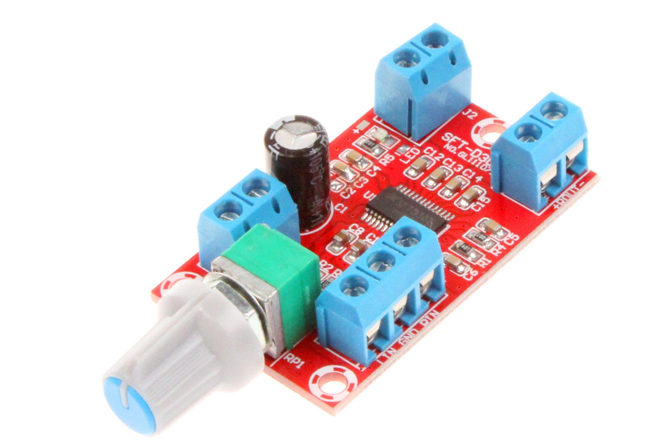 Mini High Fidelity 2.0 Dual Channel Digital Amplifier Board Module Class D 12V 24V 30W+30W Post Stage Digital Amplifier Board