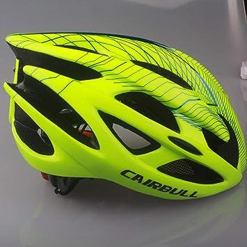 Amazon.com : Choson Vic Womens Mens Cycling Helmet Superlight Road Bike, Adult Bicycle Helmet Breathable MTB Mountain Cascos Ciclismo M L Size - Green ...