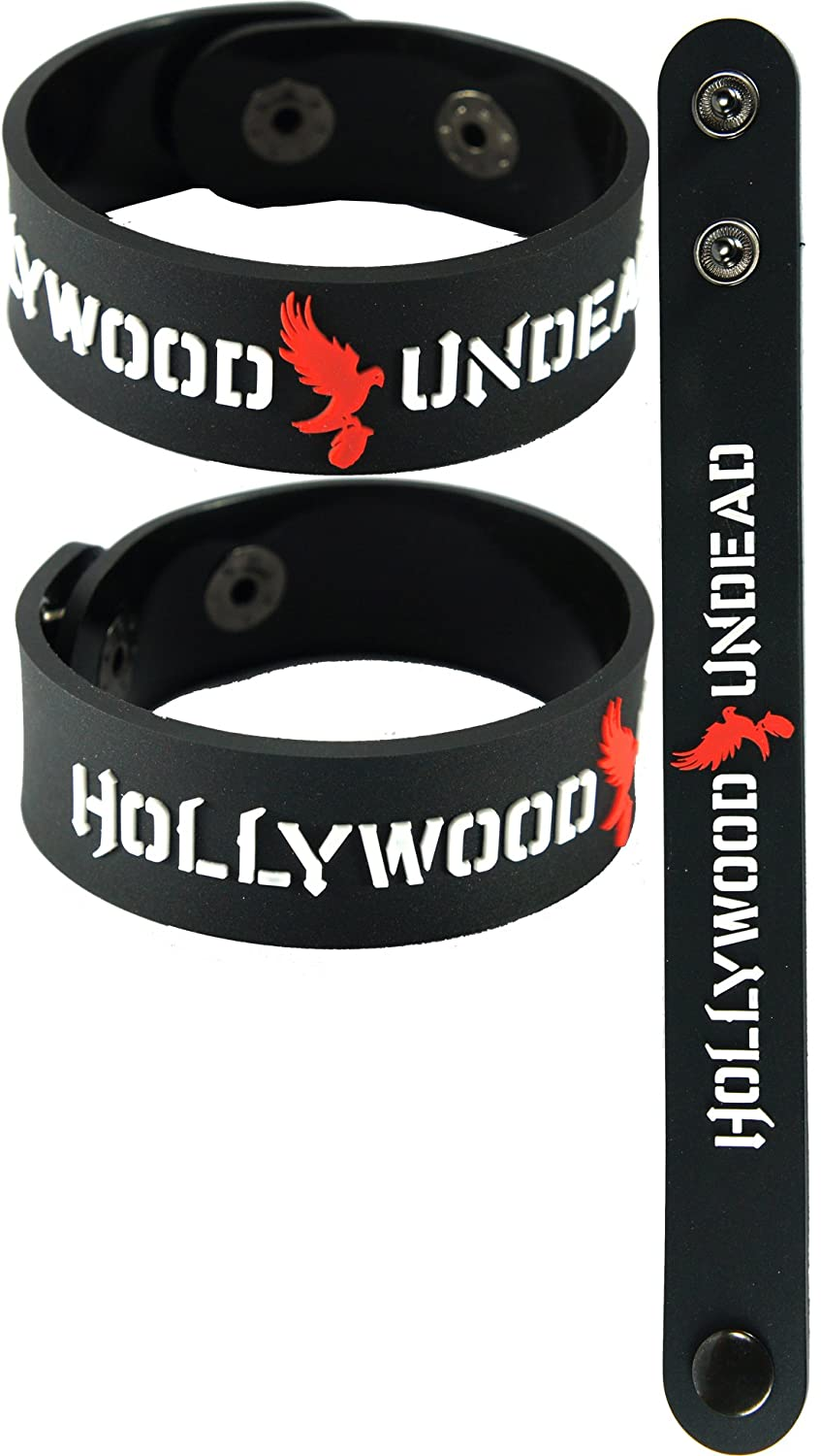 Hollywood Undead New Bracelet Wristband Aa125 Black American Tragedy