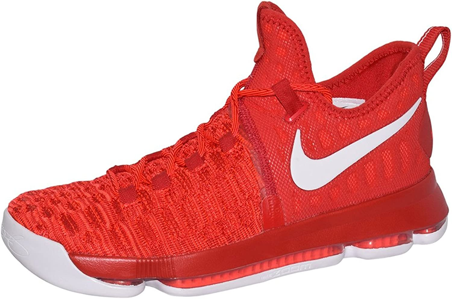 Nike Zoom KD9 Kevin Durant Basketball Men Shoes White Red
