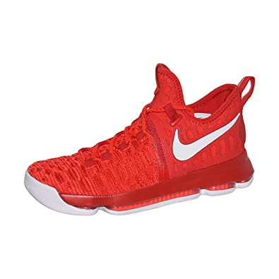 sports shoes 2d58f 460f9 Amazon.com   NIKE Zoom KD 9 Men s Basketball Shoes (11, University Red White)    Basketball