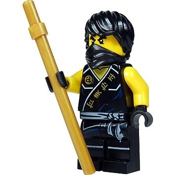 LEGO®Ninjago - Minifigura Cole (Ninja Negro) con bastón de ...