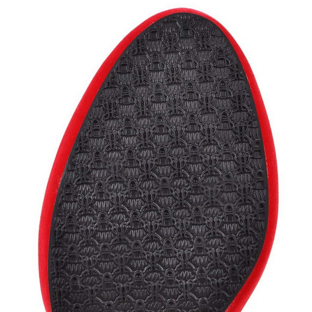AN DKU02259 Damen Durchgängies Plateau Sandalen mit Keilabsatz  Rot - rot - Größe  Keilabsatz 36 747ed2