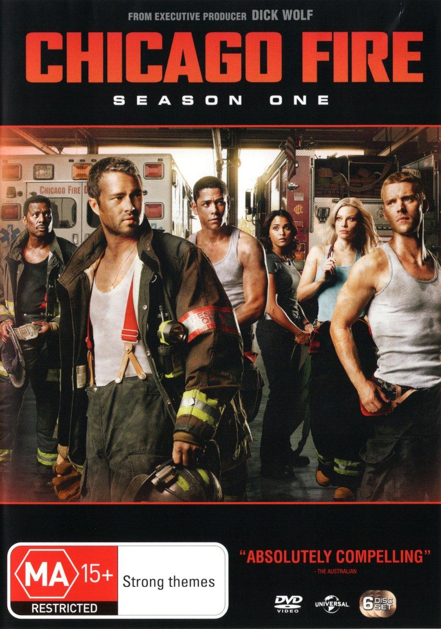 Amazon.com: Chicago Fire Season 1 | 6 Discs | NON-USA Format