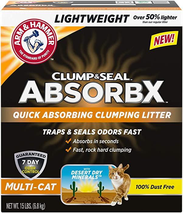 Top 7 Arm  Hammer Slide Cat Litter