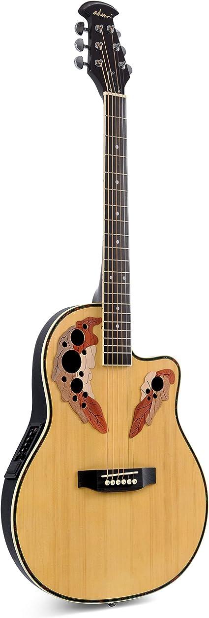 Guitarra eléctrica acústica Cutaway de tamaño completo con ...