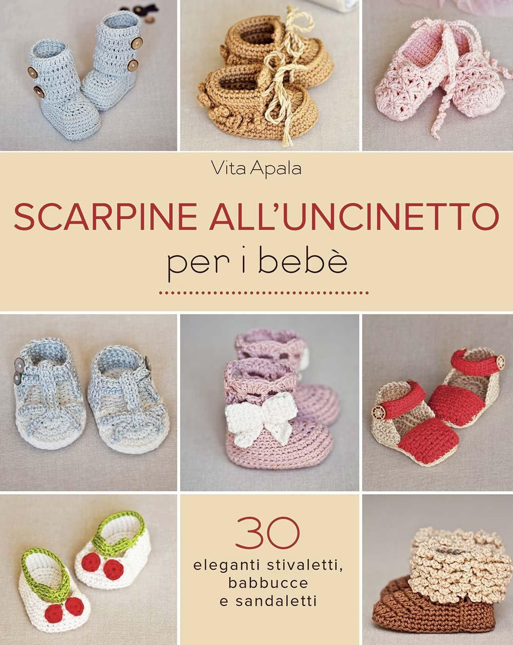 Amazonit Scarpine Alluncinetto Per I Bebè Vita Apala Libri