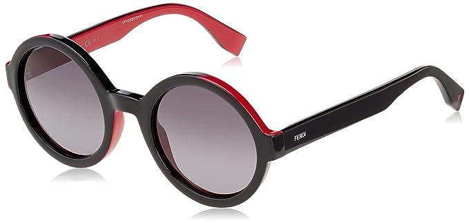 Fendi FF 0120/S HD MFQ Gafas de Sol, Negro (Black Fuchsia ...