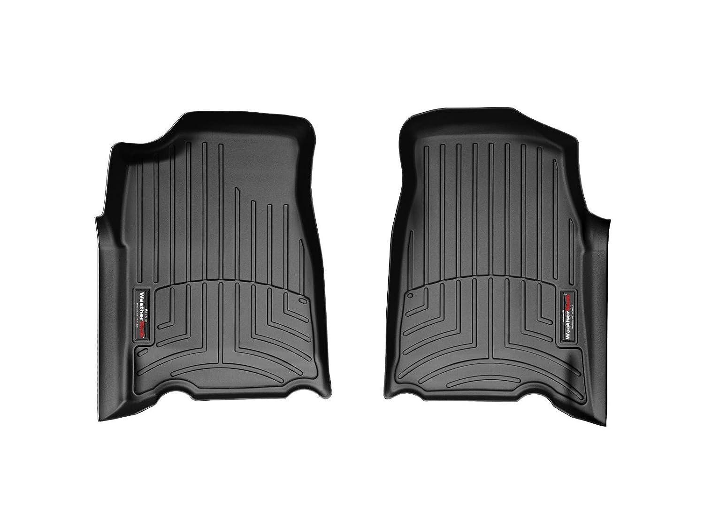 Black WeatherTech Custom Fit Front FloorLiner for Chevrolet Colorado//GMC Canyon