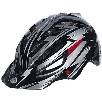 Cascos MTB Troy Lee Designs A1 gris/negro para hombre (Tamaño de la cabeza