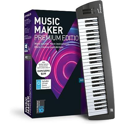 Magix Music Maker 2018 Control Edition - Software De Producción De Música, PC, DVD-ROM