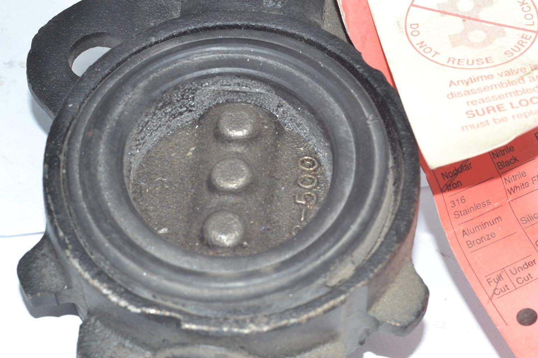 Sure Seal 2-500-169 2 Butterfly Valve Nodular Iron Full Cut Viton
