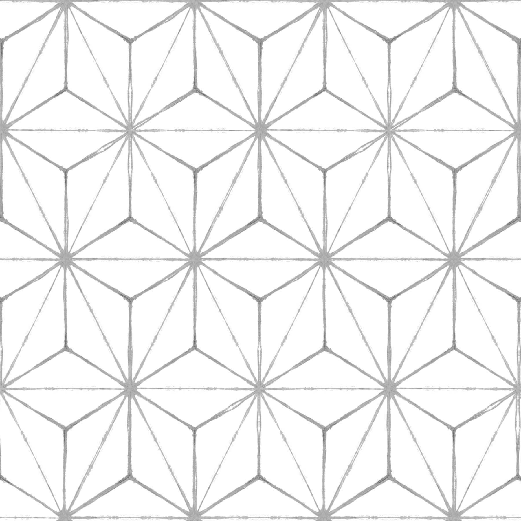 FloorPops FP2481 Kikko Floor Decal, White by FloorPops