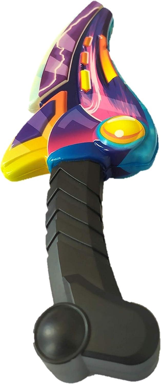 Multicolor Tipo 5 Espada de Juguete para Ni/ños 31cm Accesorio para Fiestas de Disfraces y Juegos al Aire Libre Riviax